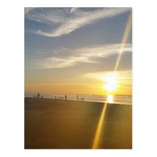 St. Helena Sunset. Postcard