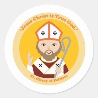 St. Hilary of Poitiers Classic Round Sticker