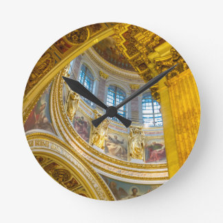 St. Isaac's Cathedral St. Petersburg, Russia Round Clock