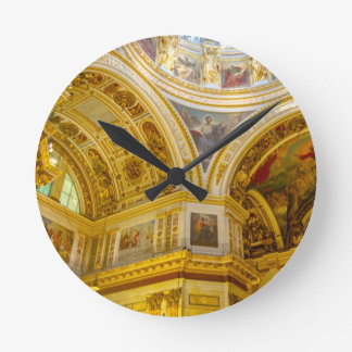 St. Isaac's Cathedral St. Petersburg, Russia Wall Clock