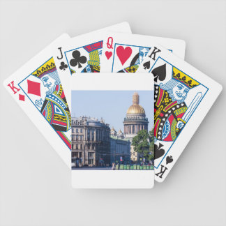 St Isaac's Cathedral St Petersburg Russia Bicycle Playing Cards