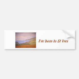 St Ives Cornwall Bumper Sticker