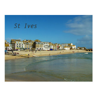 St Ives Cornwall England Photo Postcard