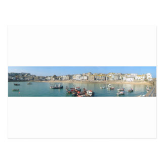 St Ives Panoramic Postcard
