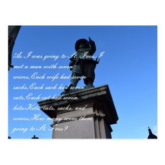 St. Ives, postcard