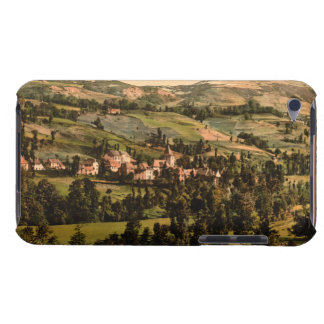 St Jacques and the Puy-Griou Auvergne France iPod Touch Cover