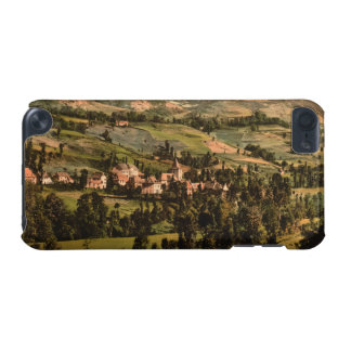 St Jacques and the Puy-Griou Auvergne France iPod Touch (5th Generation) Cases