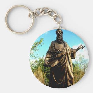 St James Catholic Church Statue Keychains
