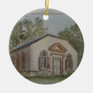 St. James Episcopal Church Goose Creek, SC Round Ceramic Decoration