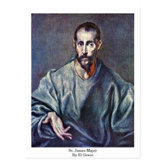 St. James Major By El Greco Postcard