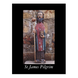 St James Pilgrim Postcard
