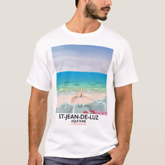 St-Jean-de-Luz, Aquitaine Travel poster T-Shirt