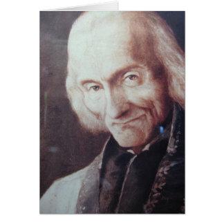 St. Jean Marie Vianney Card