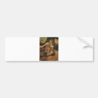 St. Jerome by Leonardo da Vinci circa 1481 Bumper Sticker