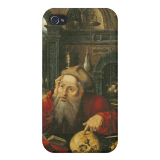 St. Jerome in his Study iPhone 4 Case
