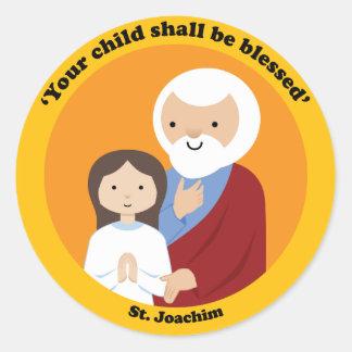 St. Joachim Classic Round Sticker