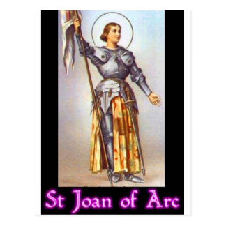 St. Joan of Arc Postcard