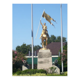 St. Joan of Arc Statue Postcard