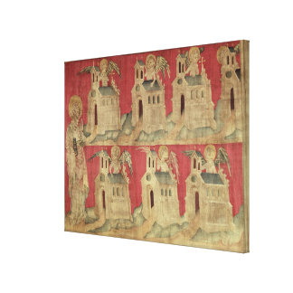 St. John and the Seven Churches of Asia Canvas Print