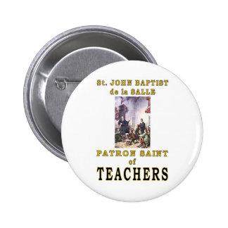 ST JOHN BAPTIST de la SALLE Buttons