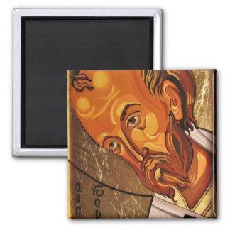 St John Chrysostom Orthodox Icon Magnet