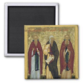 St. John Climacus  St. John of Damascus Magnet