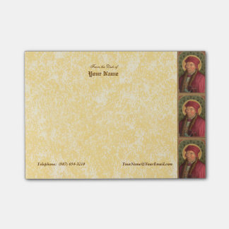"St. John Fisher (SAU 025) Horizontal 4""x3"" Post-it® Notes"
