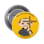 St. John of God Pinback Button