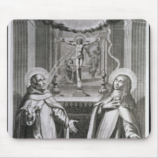 St. John of the Cross and St. Theresa of Avila Mouse Pad