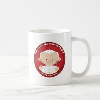 St John Paul II Coffee Mugs