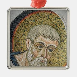 St. John the Baptist: Fragment of a mosaic Metal Ornament