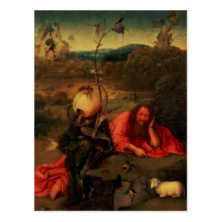 St. John the Baptist in Meditation Postcard