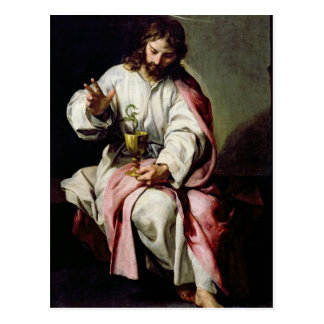St. John the Evangelist and the Poisoned Cup Postcard