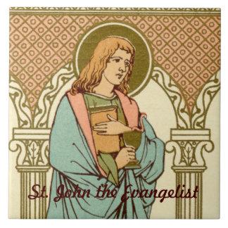 St. John the Evangelist (RLS 05) Ceramic Tile