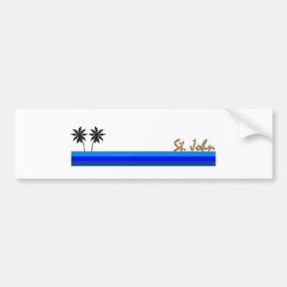 St. John, US Virgin Islands Bumper Stickers