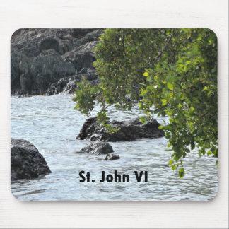 St. John VI Mouse Pad