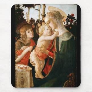 St John Virgin and Child with Young the Baptist Mouse Pad