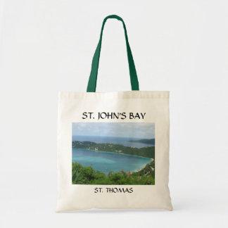 ST. JOHN'S BAY BUDGET TOTE BAG