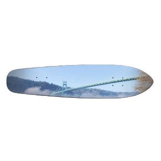 St. Johns Bridge, Beautiful Portland Oregon Skate Board Deck