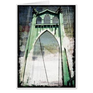St. Johns Bridge Card