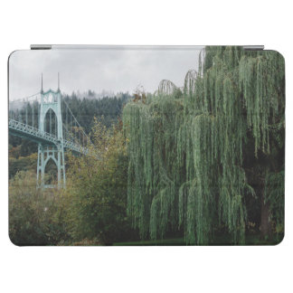 St. John's Bridge from Cathedral Park iPad Air Cover