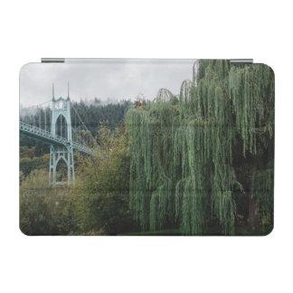 St. John's Bridge from Cathedral Park iPad Mini Cover