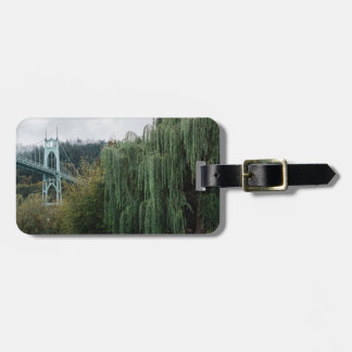 St. John's Bridge from Cathedral Park Luggage Tag