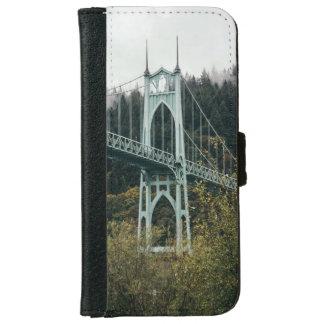 St. John's Bridge in Portland iPhone 6 Wallet Case