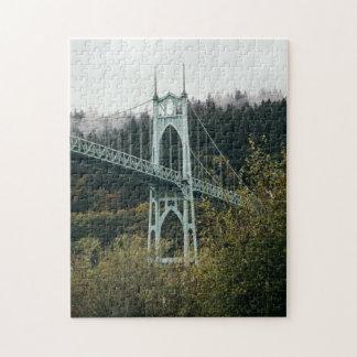 St. John's Bridge in Portland Jigsaw Puzzle