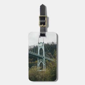 St. John's Bridge in Portland Luggage Tag