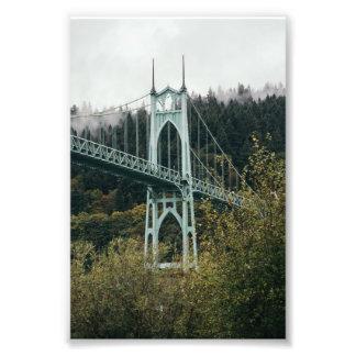 St. John's Bridge in Portland Photo