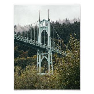 St. John's Bridge in Portland Photo Art