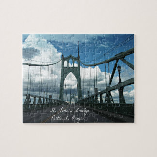 St. John's Bridge, Portland, Oregon Jigsaw Puzzle