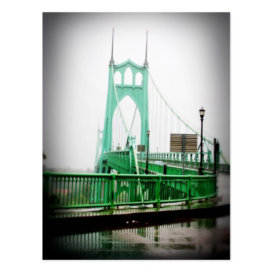 St Johns Bridge Postcard